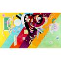 Reprodukcje obrazów Composition IX - Wassily Kandinsky