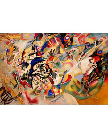 Reprodukcje obrazów Composition VII - Wassily Kandinsky