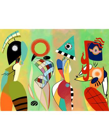 Reprodukcje obrazów Muses - Wassily Kandinsky