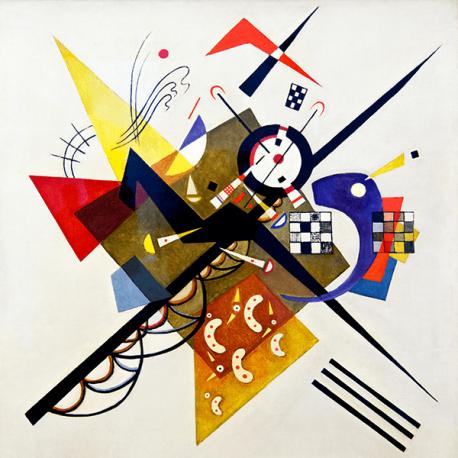 Reprodukcje obrazów Wassily Kandinsky On white II