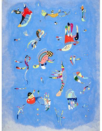 Reprodukcje obrazów Sky Blue - Wassily Kandinsky