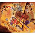 Reprodukcje obrazów Small dream in red - Wassily Kandinsky