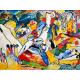 Reprodukcje obrazów Wassily Kandinsky Study to Composition II