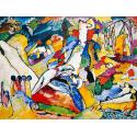 Reprodukcje obrazów Study to Composition II - Wassily Kandinsky