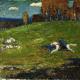 Reprodukcje obrazów Wassily Kandinsky The Blue Rider