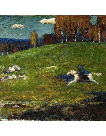 Reprodukcje obrazów The Blue Rider - Wassily Kandinsky