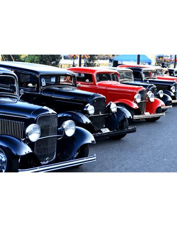 Obraz na płótnie Klasyczne samochody