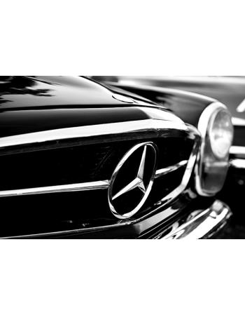 Obraz na płótnie Mercedes - Grill