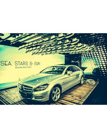 Obraz na płótnie Mercedes-benz