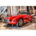 Stary sportowy Fiat