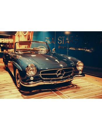 Obraz na płótnie Zabytkowy Mercedes-benz