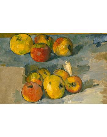 Reprodukcje obrazów Apples - Paul Cezanne