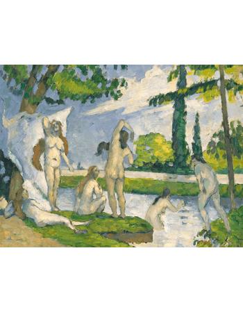 Reprodukcje obrazów Bathers - Paul Cezanne