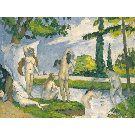 Reprodukcje obrazów Paul Cezanne Bathers