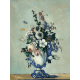 Reprodukcje obrazów Paul Cezanne Flowers in a Rococo Vase
