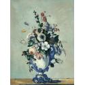 Reprodukcje obrazów Flowers in a Rococo Vase - Paul Cezanne