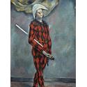 Reprodukcje obrazów Harlequin - Paul Cezanne