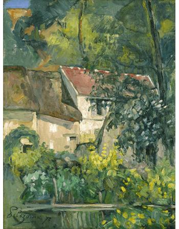 Reprodukcje obrazów Paul Cezanne House of Père Lacroix