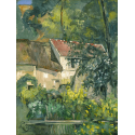 Reprodukcje obrazów House of Père Lacroix - Paul Cezanne