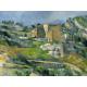 Reprodukcje obrazów Paul Cezanne Houses in Provence