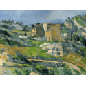 Reprodukcje obrazów Houses in Provence - Paul Cezanne