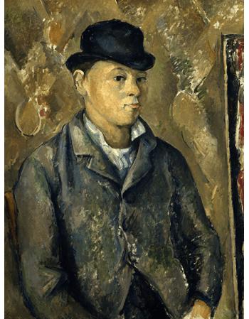 Reprodukcje obrazów Paul Cezanne The Artist's Son, Paul