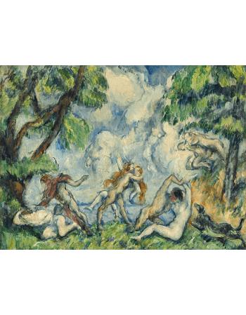 Reprodukcje obrazów Paul Cezanne The Battle of Love