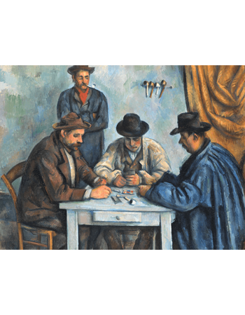Reprodukcje obrazów Paul Cezanne The Card Players