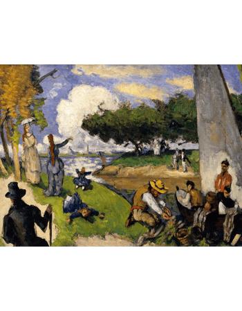 Reprodukcje obrazów Paul Cezanne The Fishermen