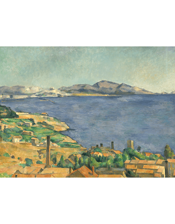 Reprodukcje obrazów Paul Cezanne The Gulf of Marseilles Seen from L'Estaque