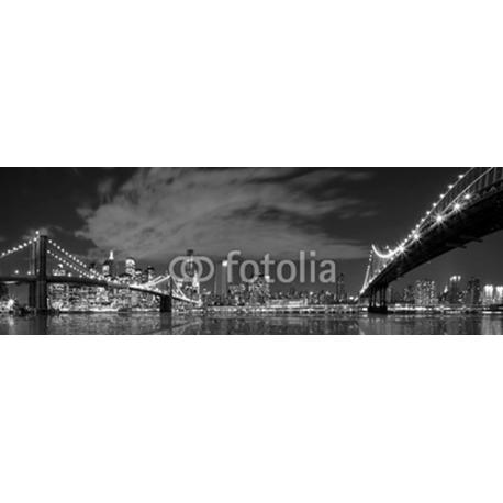 Manhattan i Brooklyn bridge