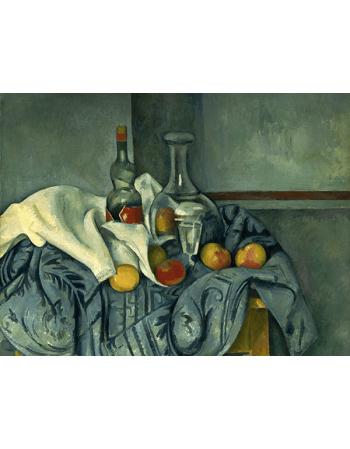 Reprodukcje obrazów Paul Cezanne The Peppermint Bottle
