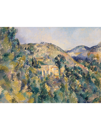 Reprodukcje obrazów Paul Cezanne View of the Domaine Saint-Joseph