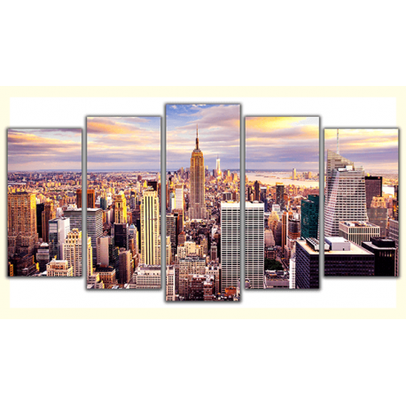 Obraz na płótnie-Fedkolor-New-York-HDR