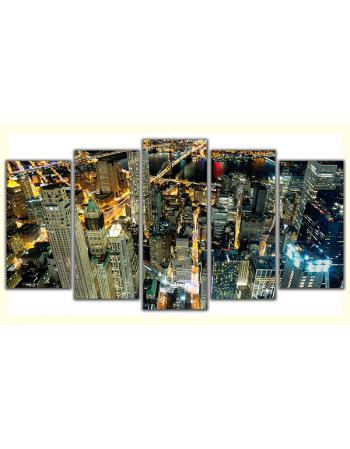 Obraz na płótnie-Fedkolor-Panorama New York