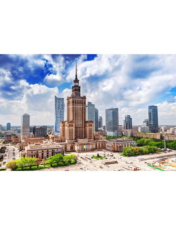 Obraz na płótnie-Fedkolor-Warszawa