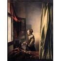 Reprodukcje obrazów Dziewczyna czytająca list - Jan Vermeer