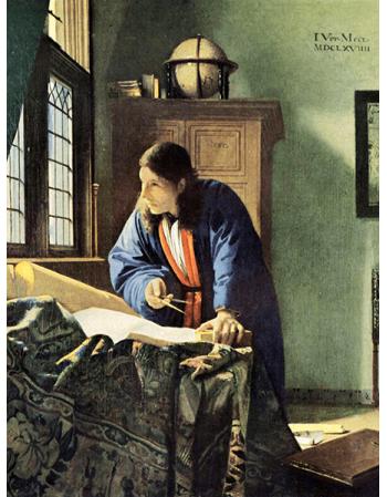 Reprodukcje obrazów Jan Vermeer Geograf