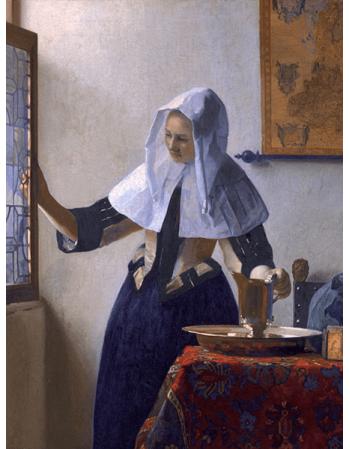 Reprodukcje obrazów Jan Vermeer Kobieta z dzbanem