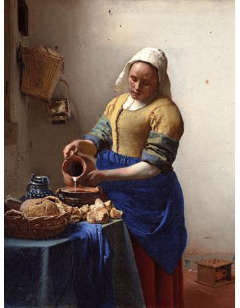 Reprodukcje obrazów Jan Vermeer Mleczarka