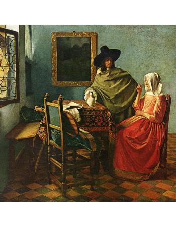 Reprodukcje obrazów Jan Vermeer Szklanka wina