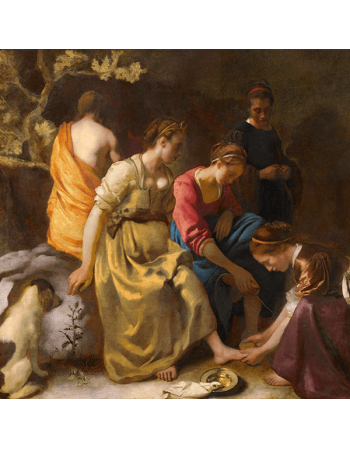 Reprodukcje obrazów Jan Vermeer Toaleta Diany