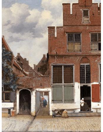 Reprodukcje obrazów Jan Vermeer Uliczka