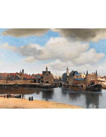 Reprodukcje obrazów Jan Vermeer Widok Delft