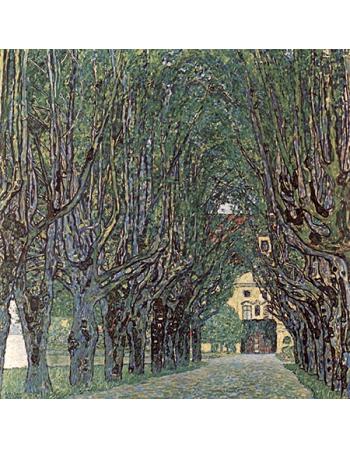 Reprodukcje obrazów Avenue in schloss kammer park - Gustav Klimt