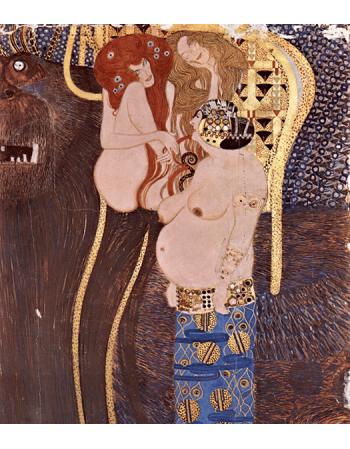Reprodukcje obrazów Beethoven Frieze - Gustav Klimt