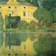 Reprodukcja obrazu Gustav Klimt Castle at the lake