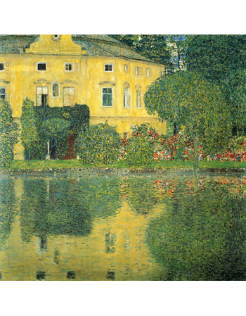Reprodukcja obrazu Gustav Klimt Castle at the lake