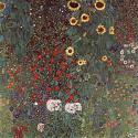 Reprodukcje obrazów Country garden with sunflowers - Gustav Klimt
