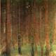 Reprodukcja obrazu Gustav Klimt Forest